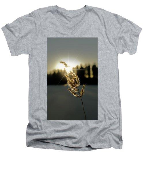 Nature's Stars Men's V-Neck T-Shirt by Rose-Marie Karlsen