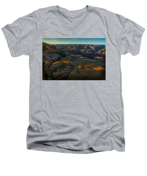 Nature's Wonder Men's V-Neck T-Shirt
