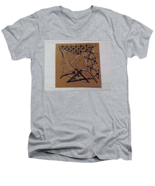 Nature's Work Men's V-Neck T-Shirt by Joyce Wasser