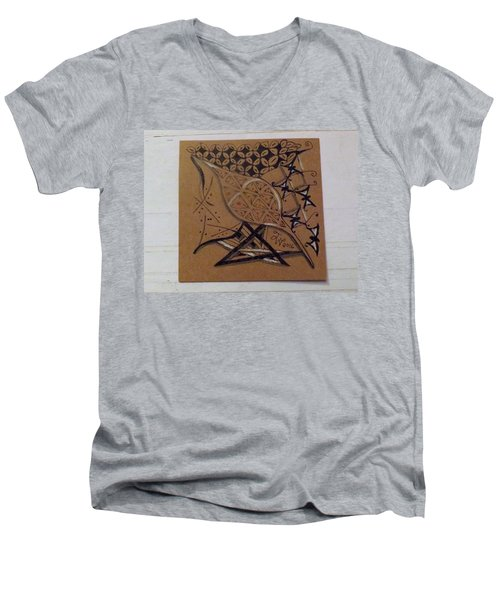 Nature's Work Men's V-Neck T-Shirt