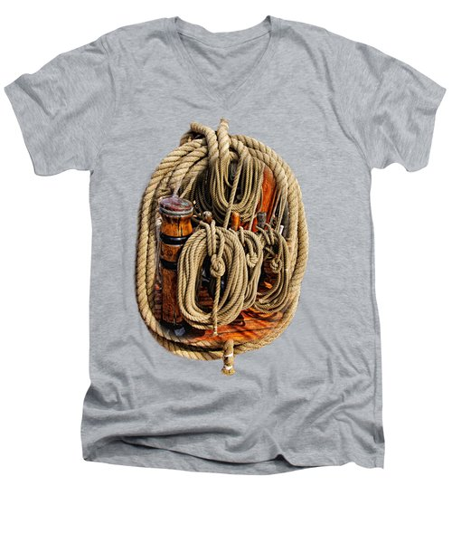 Nautical Knots 16 Men's V-Neck T-Shirt