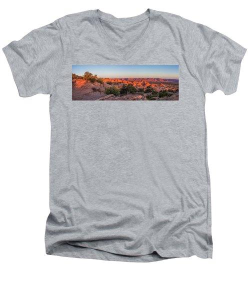 Navajo Land Morning Splendor Men's V-Neck T-Shirt