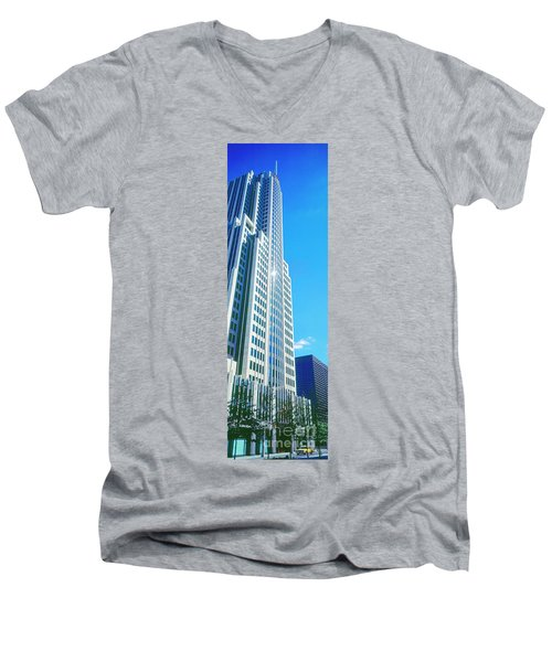 Nbc Tower Men's V-Neck T-Shirt