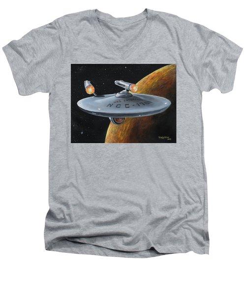 Ncc-1701 Men's V-Neck T-Shirt