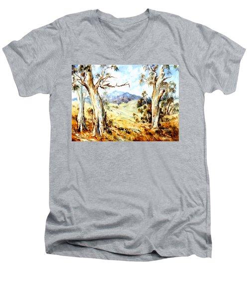 Near Avoca Men's V-Neck T-Shirt