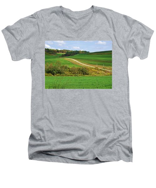 Near Horizons Men's V-Neck T-Shirt