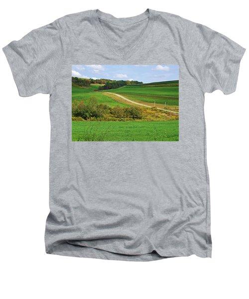Near Horizons Men's V-Neck T-Shirt