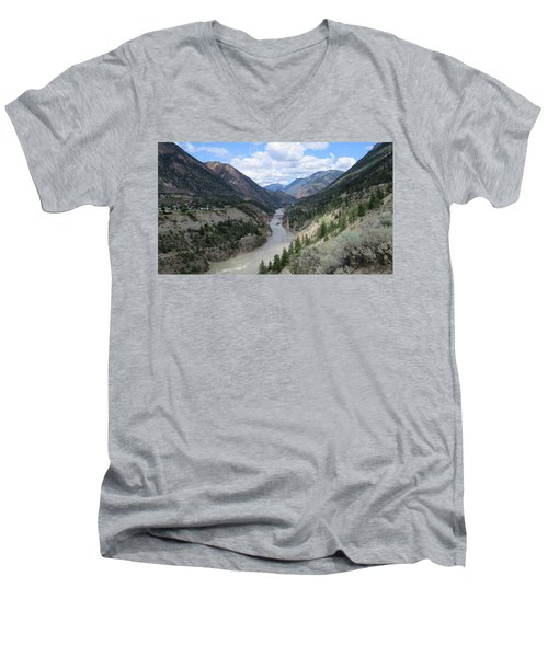 Near Lillooet Bc Men's V-Neck T-Shirt