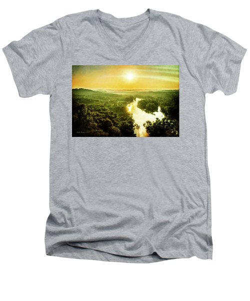 Near Table Rock Lake Men's V-Neck T-Shirt