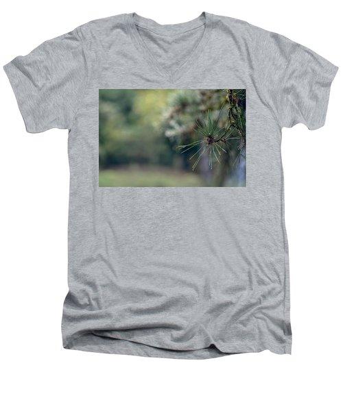 The Needles Men's V-Neck T-Shirt