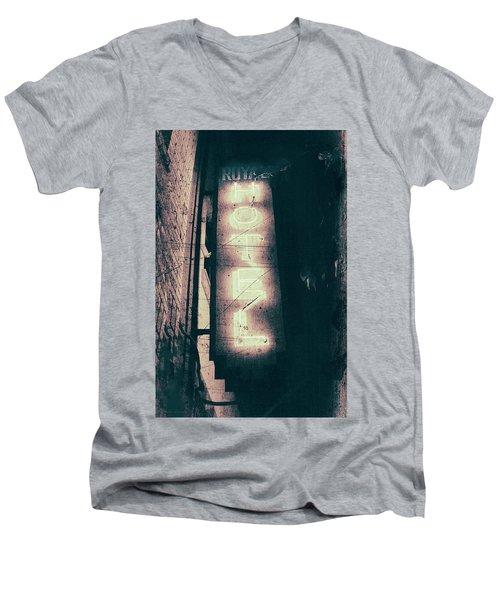 Neon Coffin Men's V-Neck T-Shirt