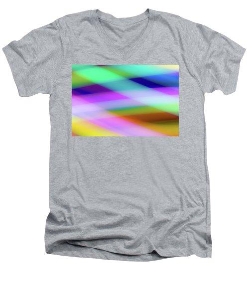 Neon Crossing Men's V-Neck T-Shirt