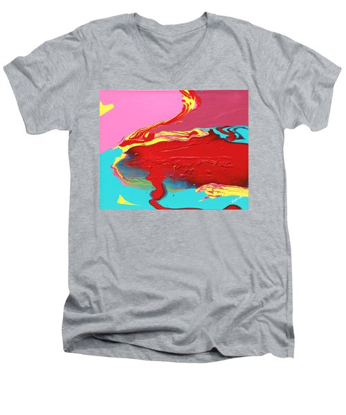 Neon Tide Men's V-Neck T-Shirt