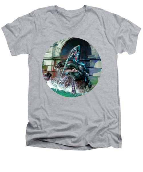 Neptune Nymph 2 Men's V-Neck T-Shirt