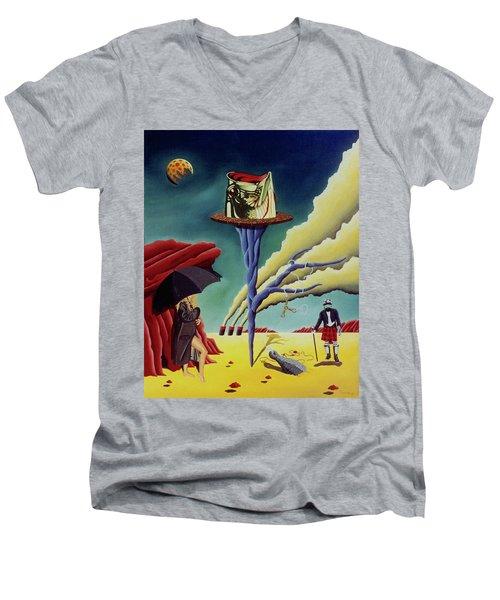 New Beginings Men's V-Neck T-Shirt