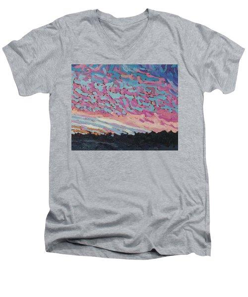 New Beginning Sunrise Men's V-Neck T-Shirt