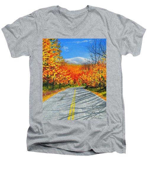 New Hampshire Men's V-Neck T-Shirt