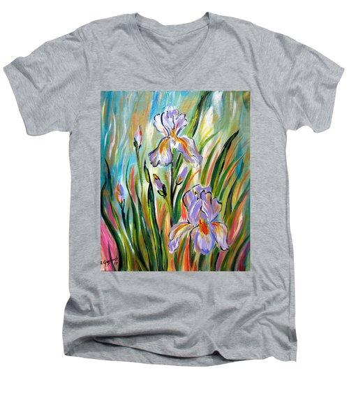 New Irises Men's V-Neck T-Shirt