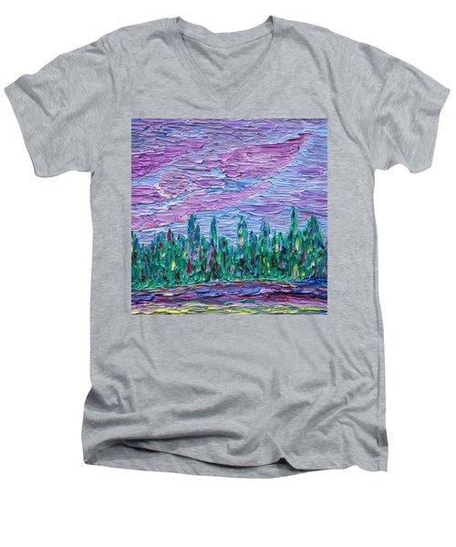New Jersey Colors Men's V-Neck T-Shirt