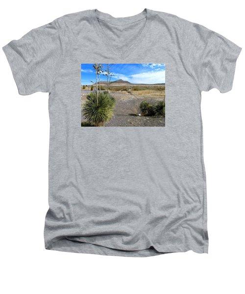 New Mexico Men's V-Neck T-Shirt
