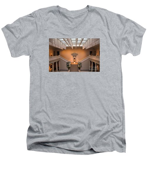 New Orleans Museum Of Art Lobby Men's V-Neck T-Shirt