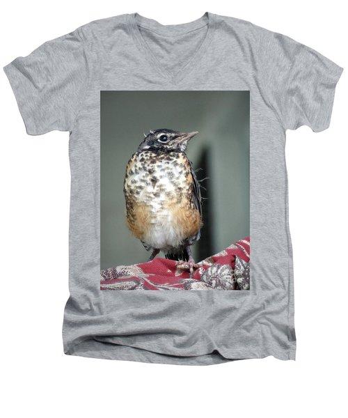 New To World Men's V-Neck T-Shirt
