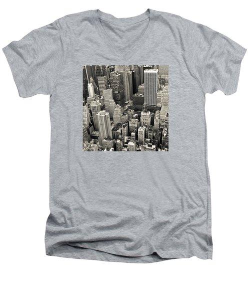 New York 1 Men's V-Neck T-Shirt