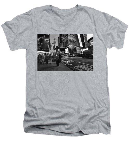 New York, New York 1 Men's V-Neck T-Shirt