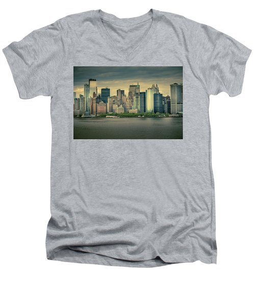New York State Of Mind Men's V-Neck T-Shirt