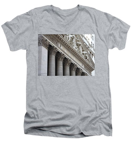 New York Stock Exchange Men's V-Neck T-Shirt