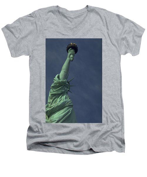 New York Men's V-Neck T-Shirt
