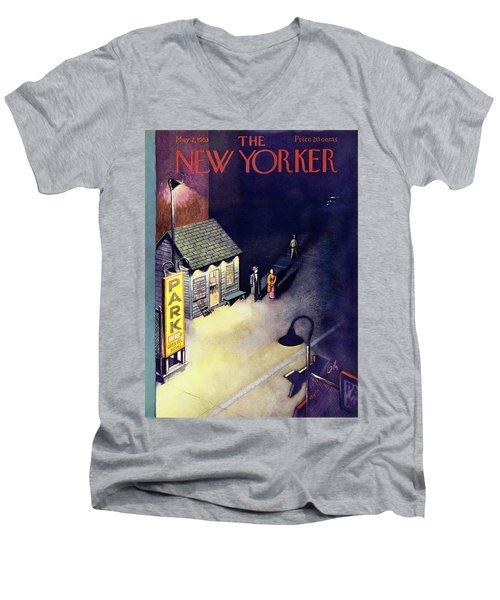 New Yorker May 2 1953 Men's V-Neck T-Shirt