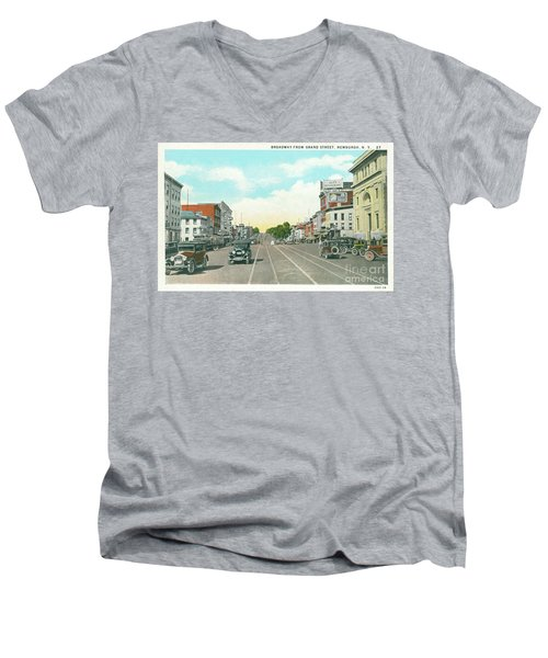 Newburgh Broadway - 05 Men's V-Neck T-Shirt