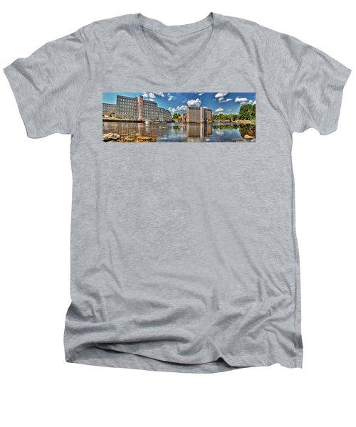 Newmarket Mills Men's V-Neck T-Shirt