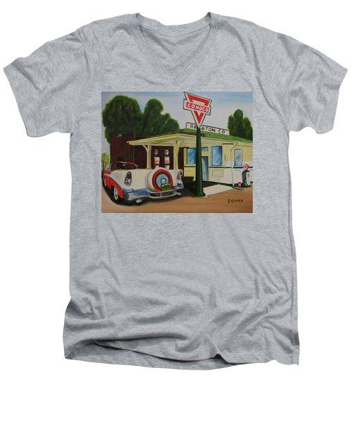 Next Stop The Rockies Men's V-Neck T-Shirt