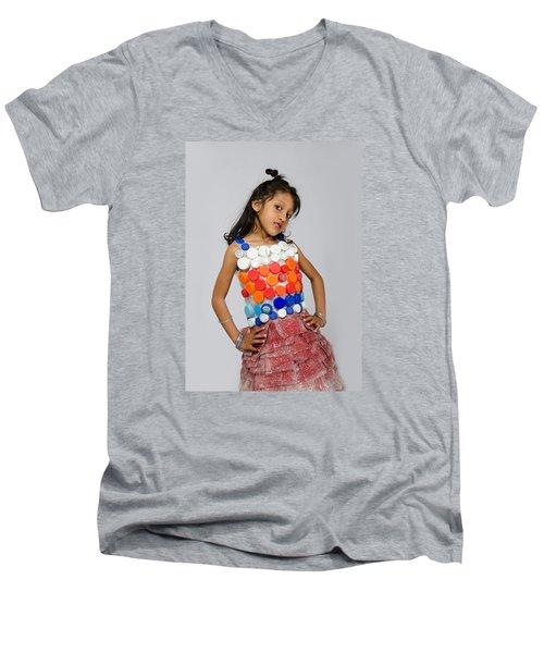 Neytra In Little Chic Men's V-Neck T-Shirt