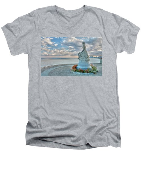 New Hampshire Marine Memorial Men's V-Neck T-Shirt