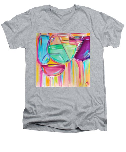 Nice Stems Men's V-Neck T-Shirt