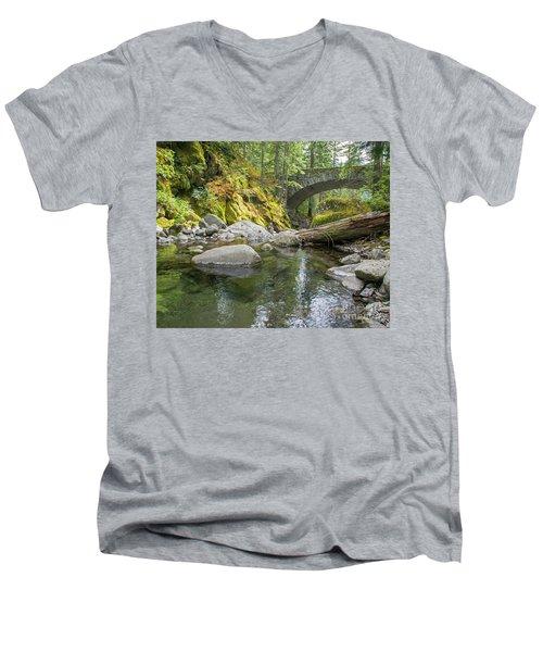 Nickel Creek 1024 Men's V-Neck T-Shirt