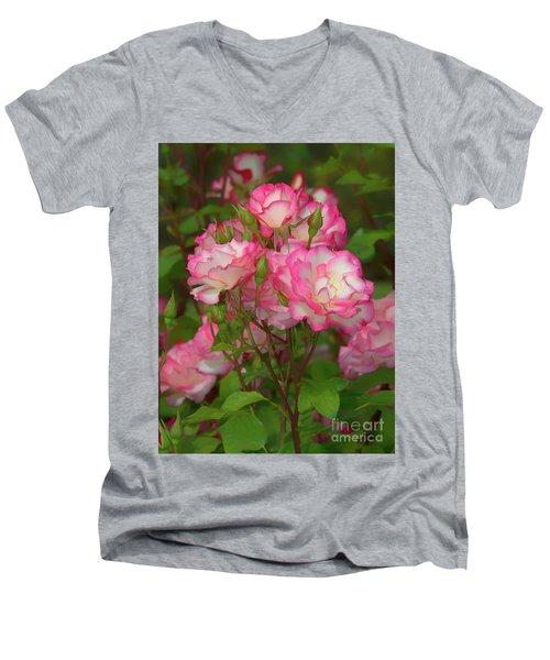 Nicole Rose Lighter Men's V-Neck T-Shirt