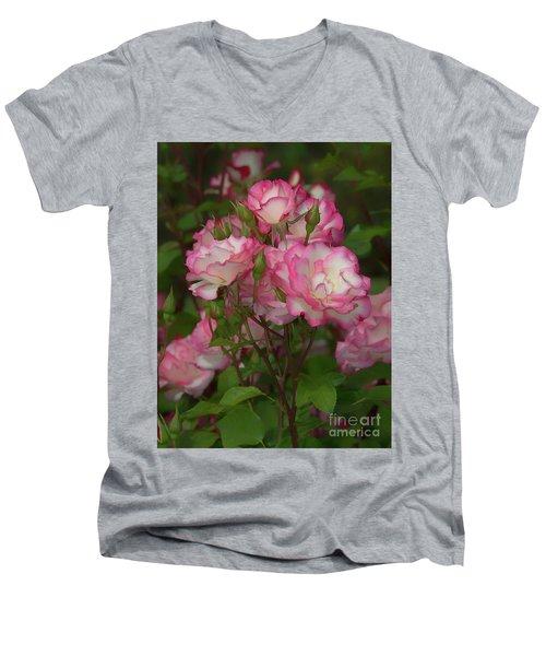 Nicole Roses Men's V-Neck T-Shirt