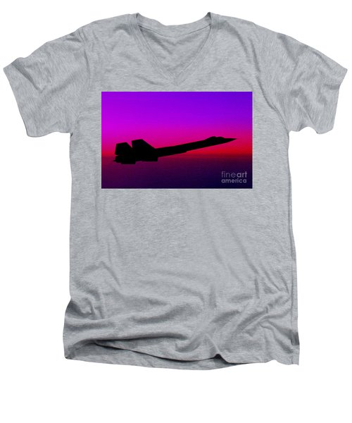 Night Eyes Men's V-Neck T-Shirt by Greg Moores