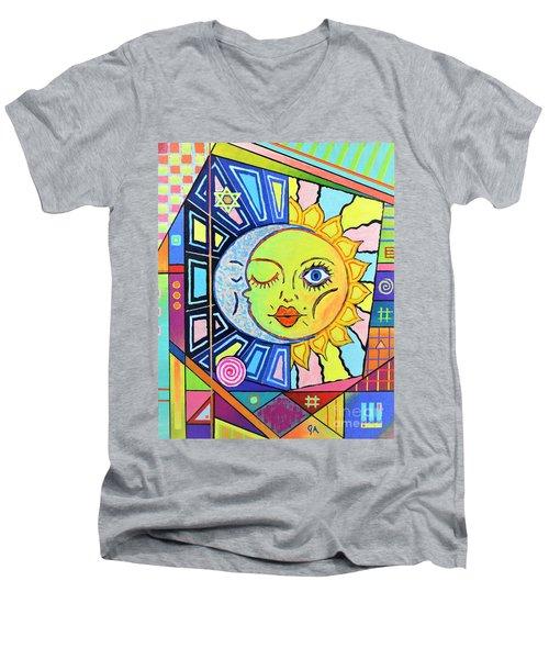 Night Kisses Daylight Men's V-Neck T-Shirt