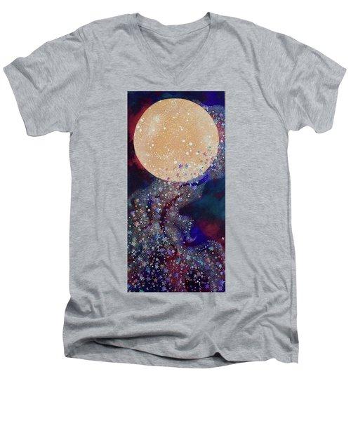 Night Magic Men's V-Neck T-Shirt