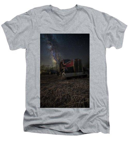 Night Rig Men's V-Neck T-Shirt