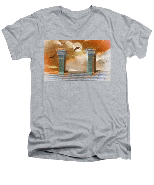 Night Vision Men's V-Neck T-Shirt