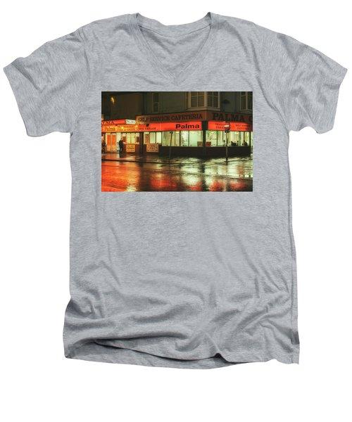 Nighthawks Men's V-Neck T-Shirt