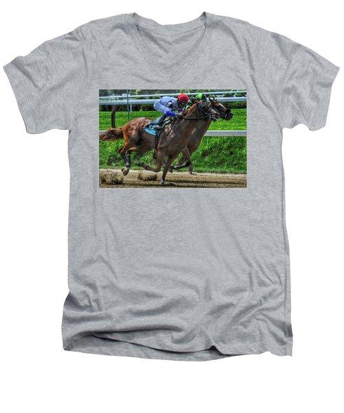Nine Gaining Men's V-Neck T-Shirt