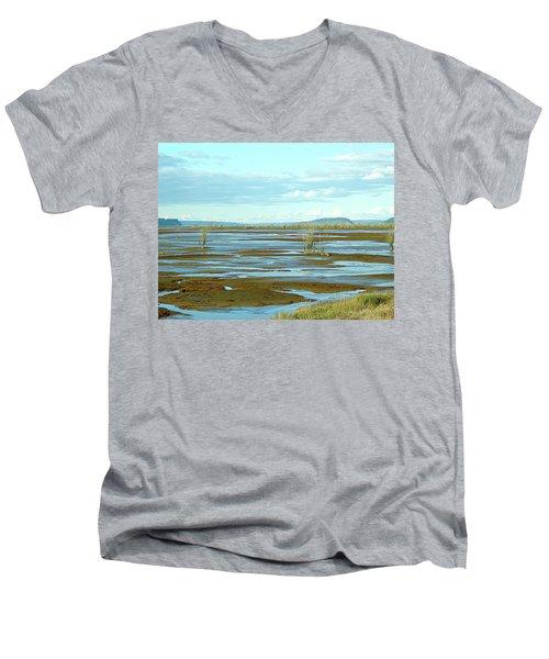 Nisqually Looking North Men's V-Neck T-Shirt
