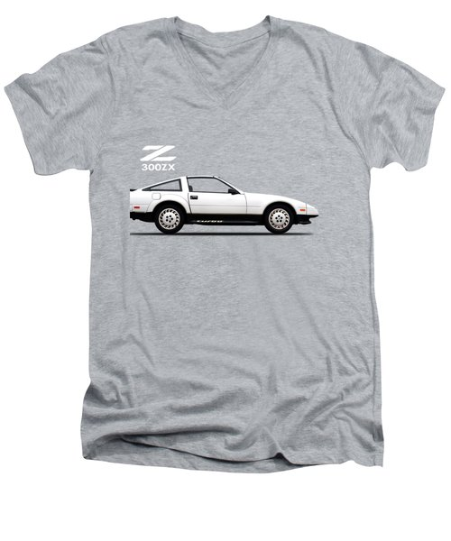 Nissan 300zx 1984 Men's V-Neck T-Shirt by Mark Rogan